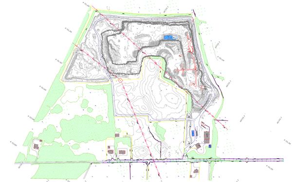 Quarry Surveys and volume analysis